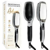 Product Image Asavea Professional Hair Straightening Brush Black Grey