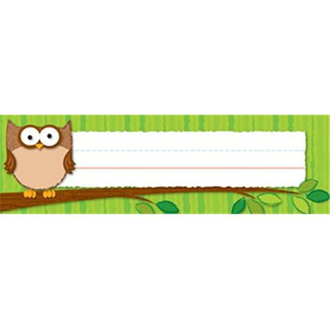 Owls Desk Nameplates by CoolCrafts