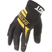 IRONCLAD WCG2-04-L Large Black Compression Cuff Mechanics Gloves