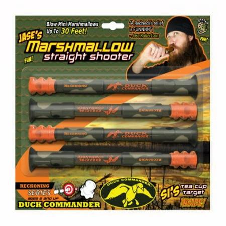 Marshmallow Fun Duck Commander Straight Shooter - Rapid Fire Marshmallow Shooter