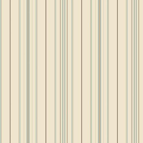 Cool Kids Wide Pinstripe Wallpaper, White/Blue