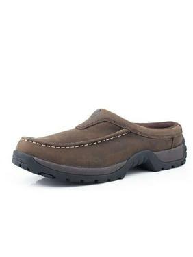 Roper Western Shoes Mens Leather Slip On Brown 09-020-1650-1561 BR