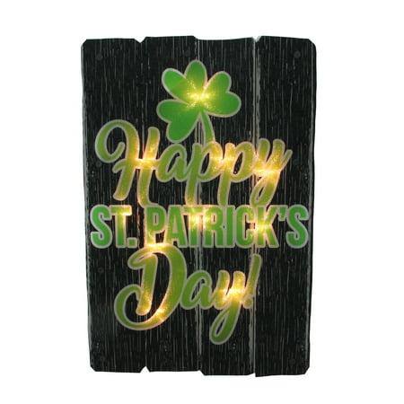 Impact Happy St. Patricks Day Shamrock Window Decoration](Shamrock Lights)