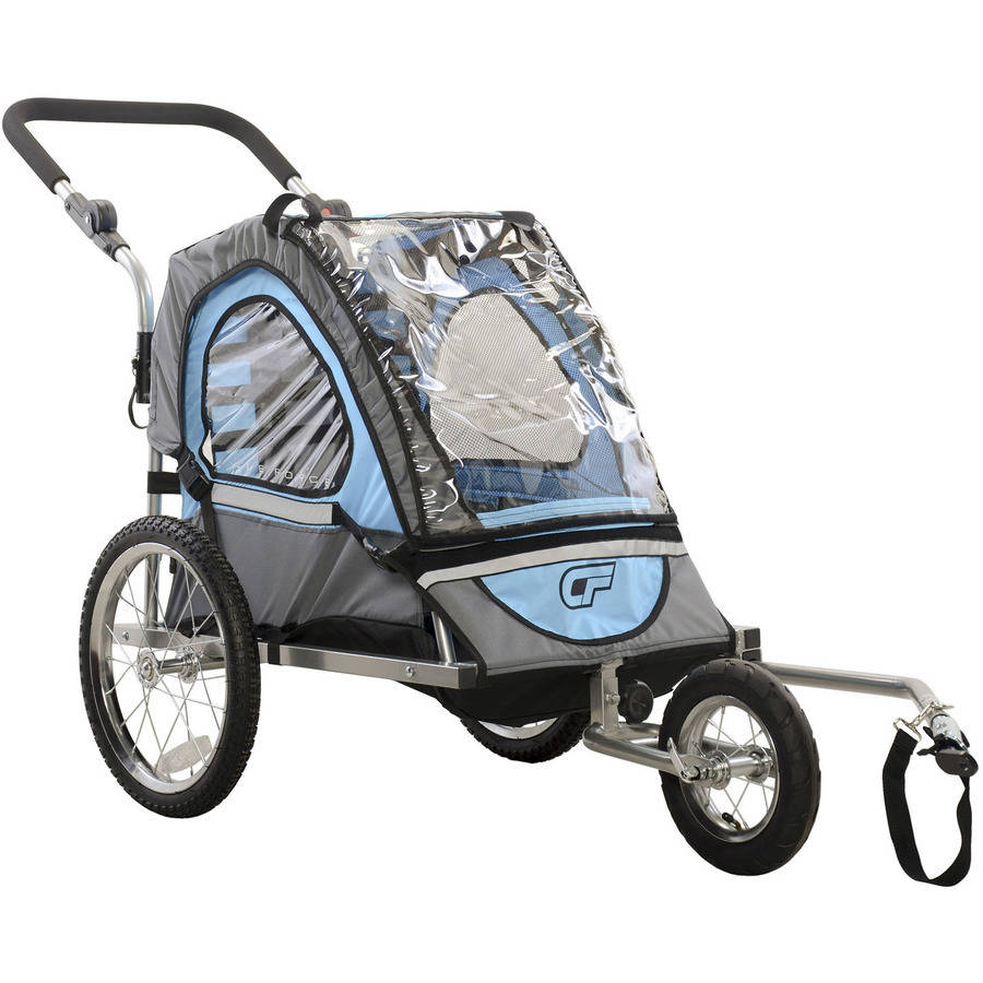 Cycle Force C12 Single Child 2-In-1 Bicycle Trailer and Jogger
