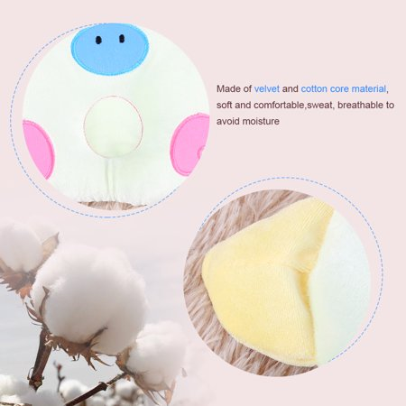 Yosoo Soft Infant Baby Pillow Prevent Support Flat Head