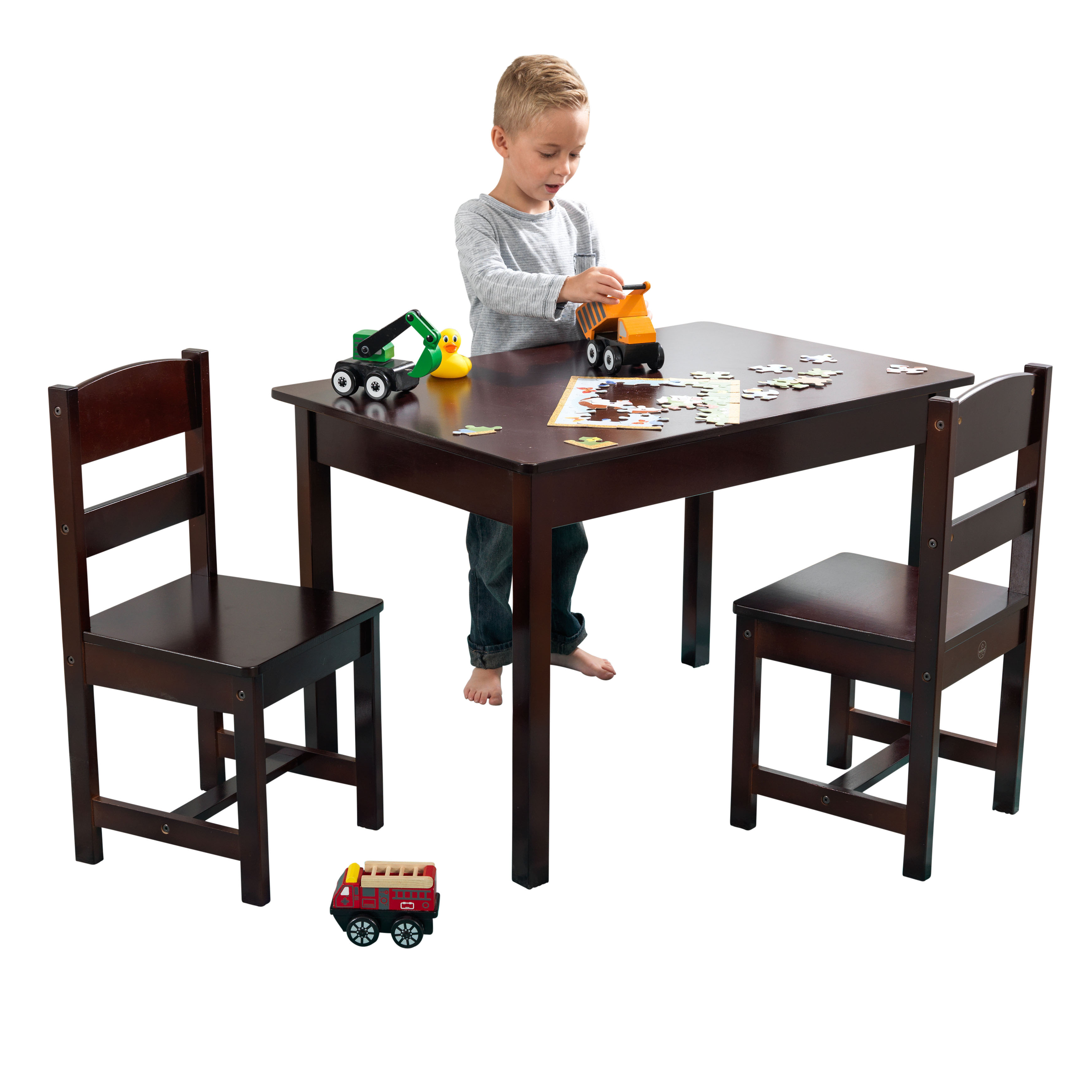 KidKraft Rectangle Table & 2 Chair Set