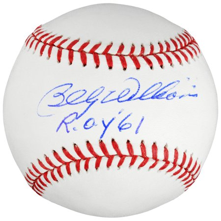 Billy Williams Chicago Cubs Fanatics Authentic Autographed Baseball with ROY '61 Inscription - No Size - Williams Autograph Baseball