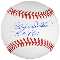 Billy Williams Chicago Cubs Fanatics Authentic Autographed Baseball with ROY '61 Inscription - No Size