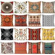 Koszal European Pattern Pillow Case Cushion Cover Home Sofa Chair Decorative Pillowslip
