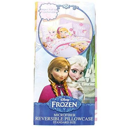 Disney Frozen Love Blooms Pillowcase (Reversible)