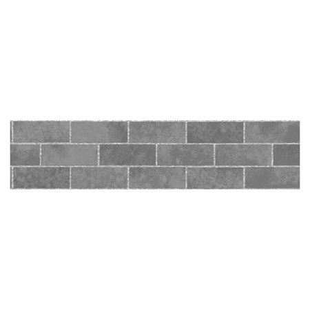 Tales Border - Fun4Walls Stone Tile Peel and Stick Wall Border - Set of 2
