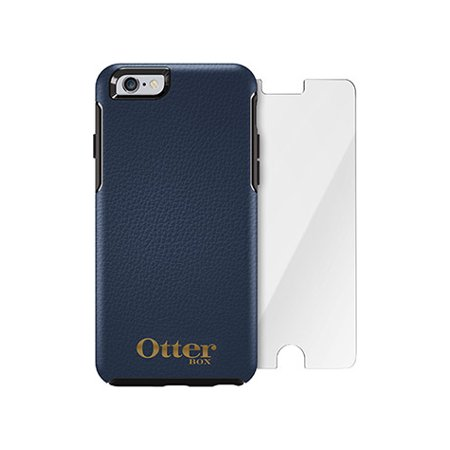 huge discount 73ae8 70cc2 OtterBox Symmetry Series Leather Edition + Alpha Glass for iPhone 6 ...