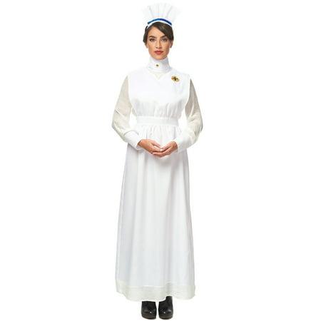Vintage Nurse Adult Costume - Nursing Costumes