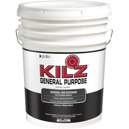 Kilz General Purpose Exterior Water Base Primer 5 Gallon