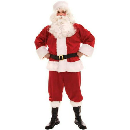 Adult Traditional Santa Claus Costume - Traditional Russian Costume