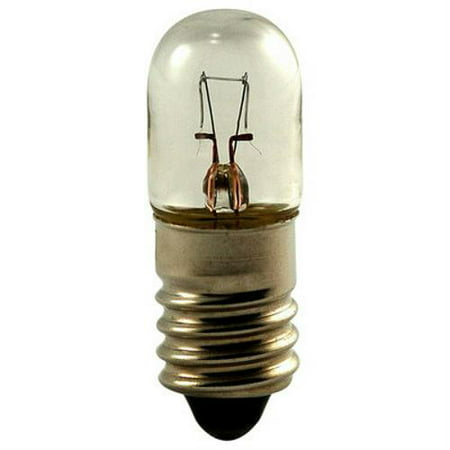 Eiko 1487, 14V .2A T3-1/4 Miniature Screw Base Light Bulb (Pack of (Amber Miniature Eiko Light Bulb)