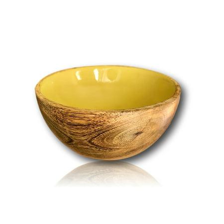 Handmade Mini Mango Wood Bowl | Mini Fruit Bowl and Side Dish Bowl by Kauri Design