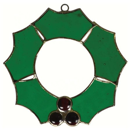 - Gift Essentials Christmas Wreath Suncatcher