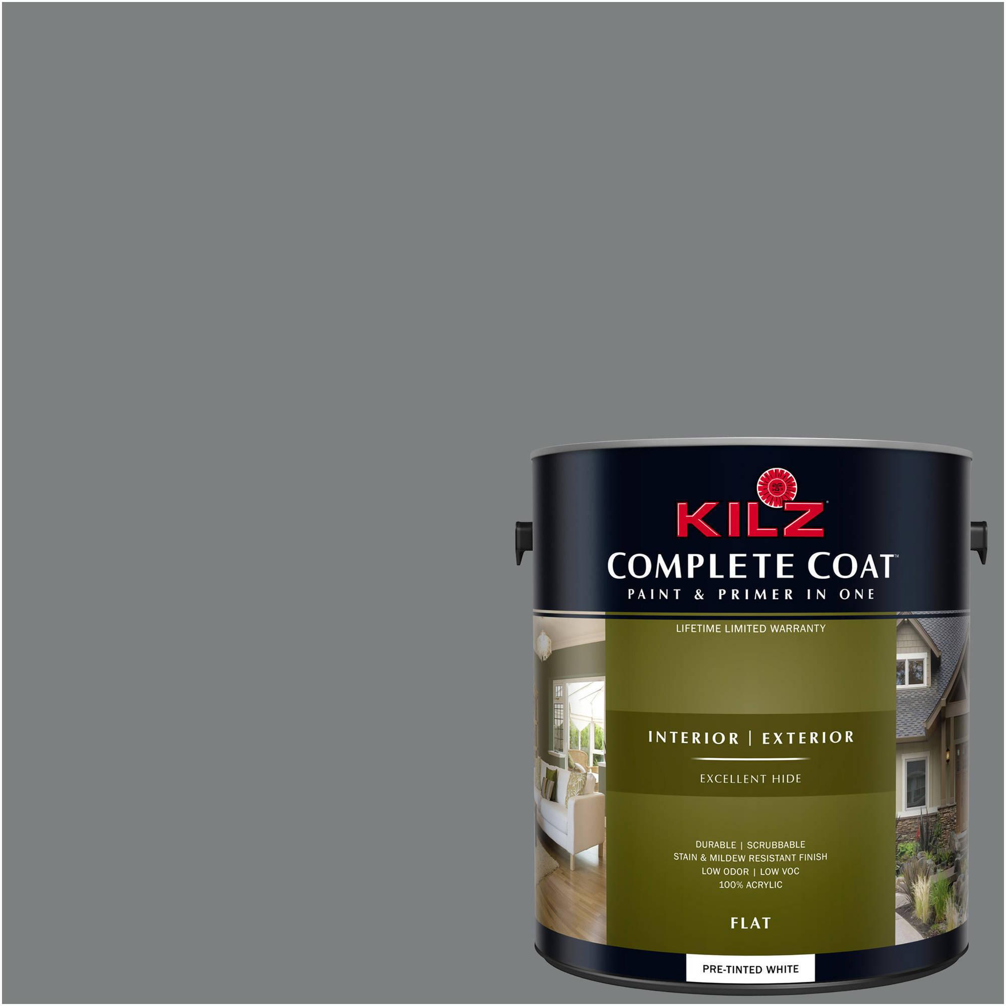 KILZ COMPLETE COAT Interior/Exterior Paint & Primer in One #RL230 Chipped Granite