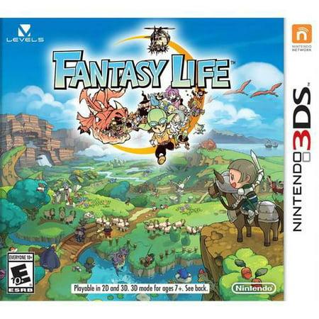 Level5 - Fantasy Life - 3DS