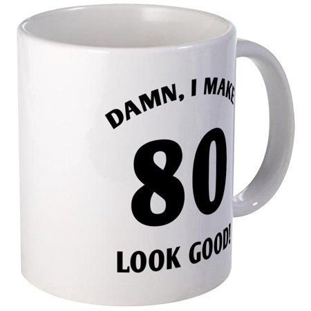 CafePress - 80 Yr Old Gag Gift Mug - Unique Coffee Mug, Coffee Cup CafePress](Cheap Unique Gifts)