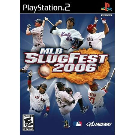 MLB Slugfest 2006 - PS2 - 2006 Mlb Baseball