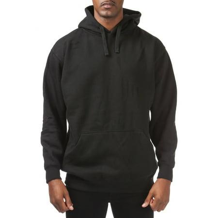 - Pro Club Men's Comfort Pullover Hoodie (9oz), Small, Black