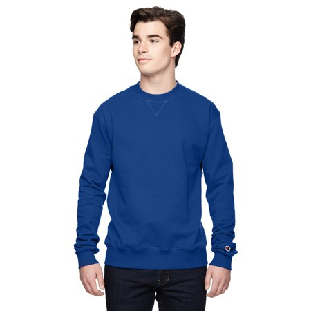 b7eeaaa3ef28 Champion - Champion Men s Sport Royal Blue Cotton Polyester Big and Tall  Crewneck Sweater - Walmart.com