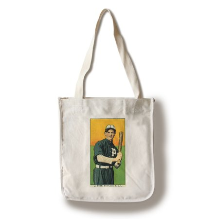 Portland Pacific Coast League - J. Ryan - Baseball Card (100% Cotton Tote Bag - Reusable)