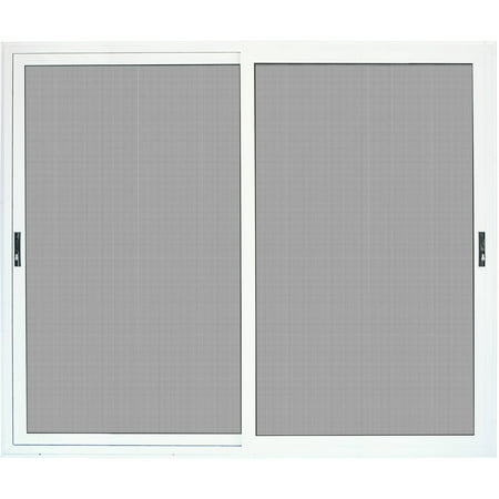 Titan security surface mount sliding patio aluminum for Aluminum sliding screen door