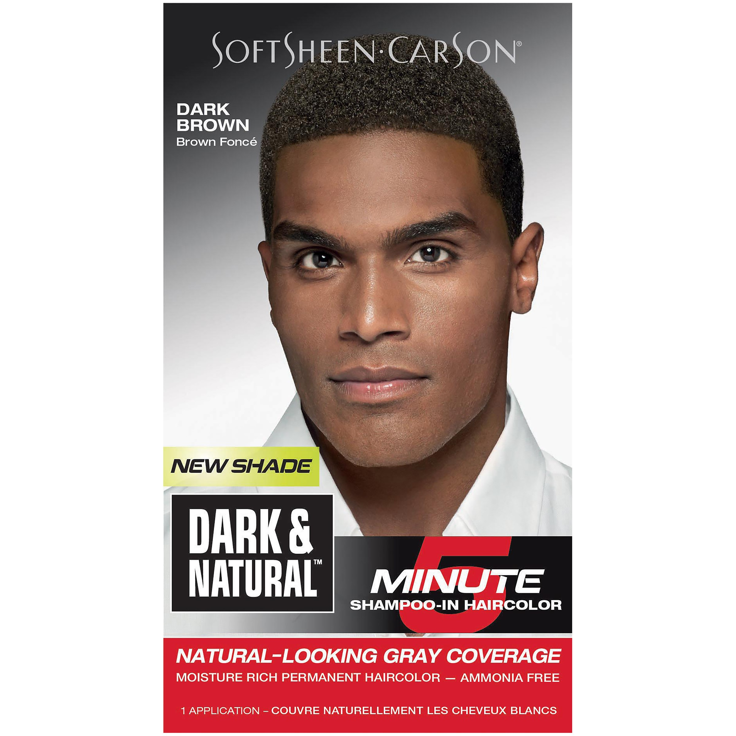 SoftSheen-Carson Dark & Natural 5 Minute Shampoo-In Haircolor