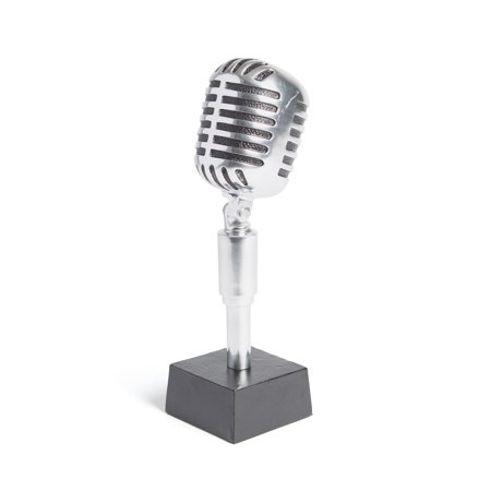 Hip Vinatge Microphone Trophy Frost Trophy - Microphone Trophies