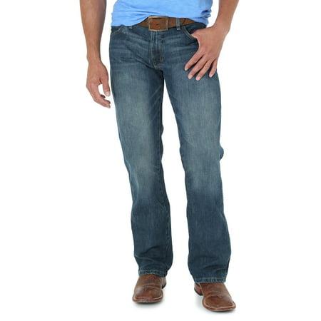 Retro Slim Boot-Cut Jean - Riverwash (38x36 Mens Jeans Boot Cut)