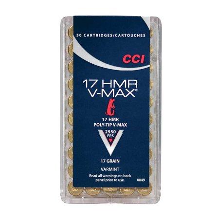 Cci Ammunition Cci 17hmr 17gr V-max
