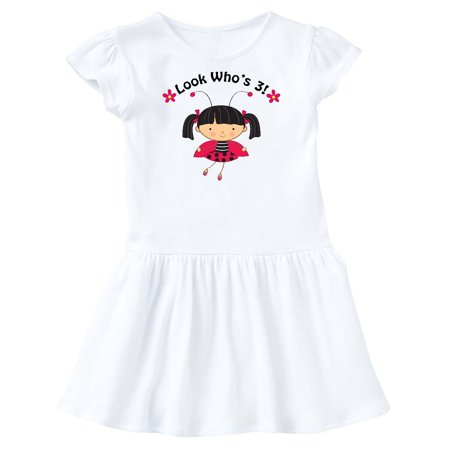 3rd Birthday Ladybug  3 Year Old Girl Toddler - Ladybug Dress Toddler