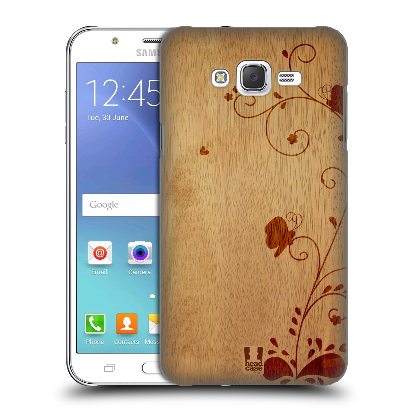 HEAD CASE DESIGNS WOOD ART HARD BACK CASE FOR SAMSUNG PHONES 3