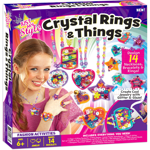 Just My Style Crystal Rings and Things Kit
