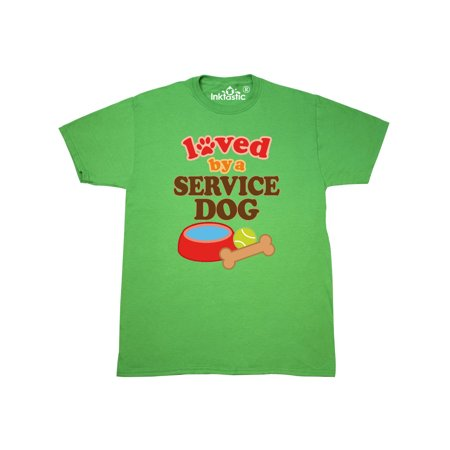 Loved By A Service Dog T-Shirt