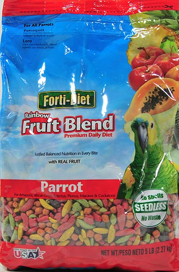 FORTI-DIET Rainbow Fruit Parrot Pet Bird Food, 5 lb by Wal-Mart Stores, Inc.