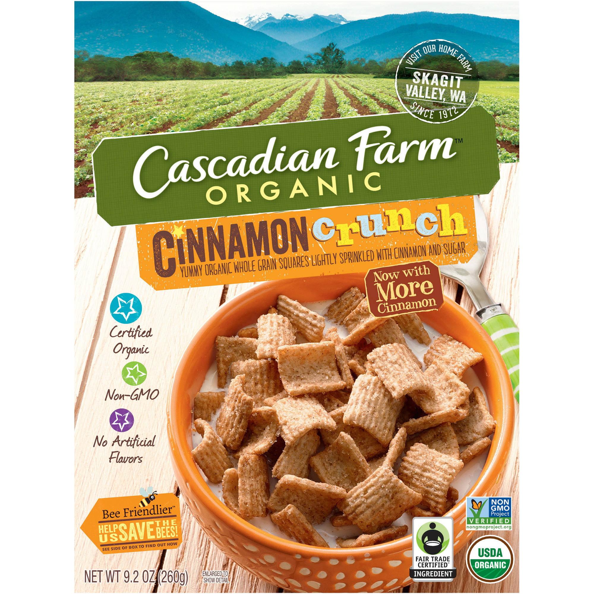 Cascadian Farm Organic Oats And Honey Granola, 16 Oz