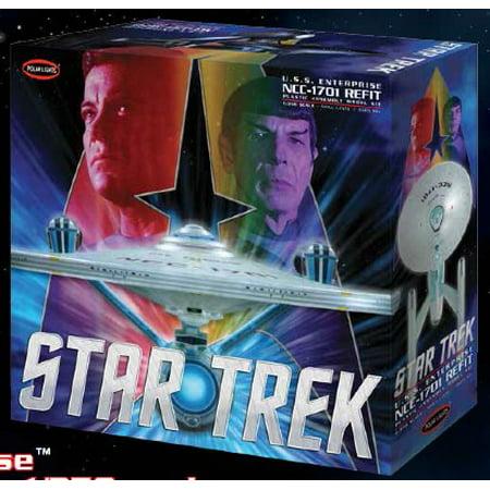Uss Enterprise Star (Polar Lights 949 1:350 Star Trek USS Enterprise Refit)