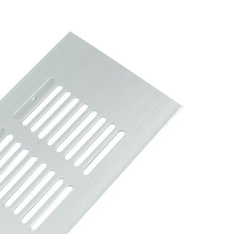 Alliage aluminium persiennes a rateur grille de ventilation grille 300mmx80mm - Grille de ventilation aluminium ...