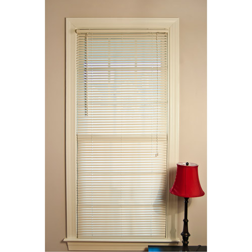 Mainstays Room Darkening Mini Blinds Off White Walmart Com