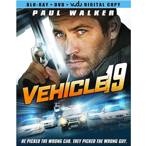 Vehicle 19 (Blu-ray + DVD + VUDU Digital Copy) (Walmart Exclusive)