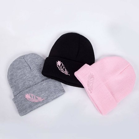 SUNSIOM Unisex Women Mens Knitted Winter Warm Oversized Ski Slouch Hat Cap Baggy Beanies Camouflage Slouch Hat