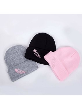 SUNSIOM Unisex Women Mens Knitted Winter Warm Oversized Ski Slouch Hat Cap Baggy Beanies