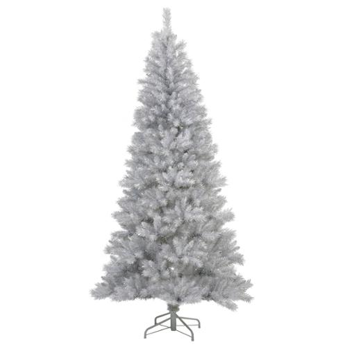 12'  Silver White Tree Artificial Christmas Tree - Unlit