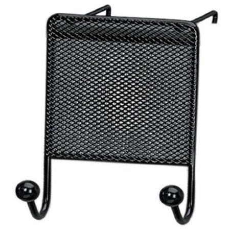 - Fellowes Mesh Partition Additions Double Coat Hook - 2 Hookmetal - Black (FEL75903)