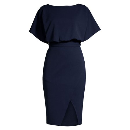 Cheap But Cute Dresses (Belted Midi Dress)
