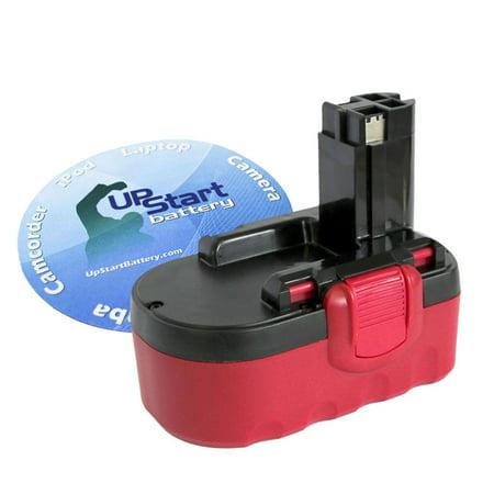 - Bosch BAT026 Battery + Charger + EU Adapter - Replacement Bosch 18V Battery, Charger and EU Adapter (1300mAh, NICD)
